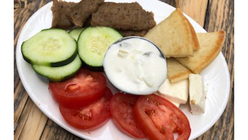 Kids Greek Plate